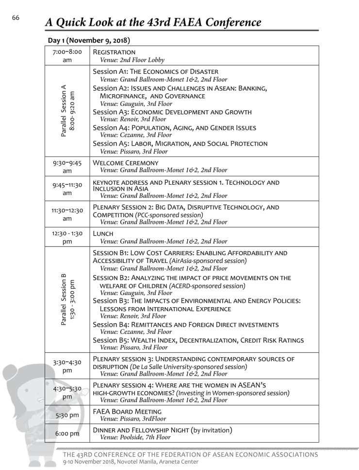 (as of 10-31) FAEA 43 Program-01